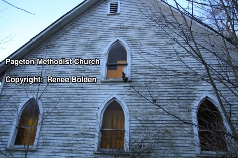 Pageton Methodist Church Front